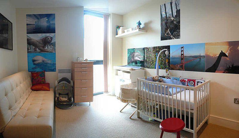 décorer la chambre d'un bébé