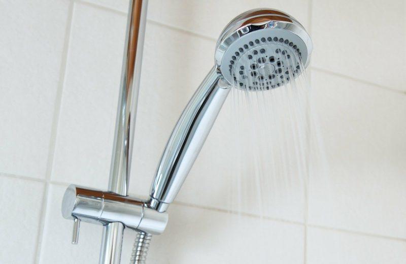 L'eau chaude douche
