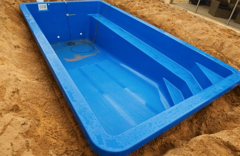 installation de piscine
