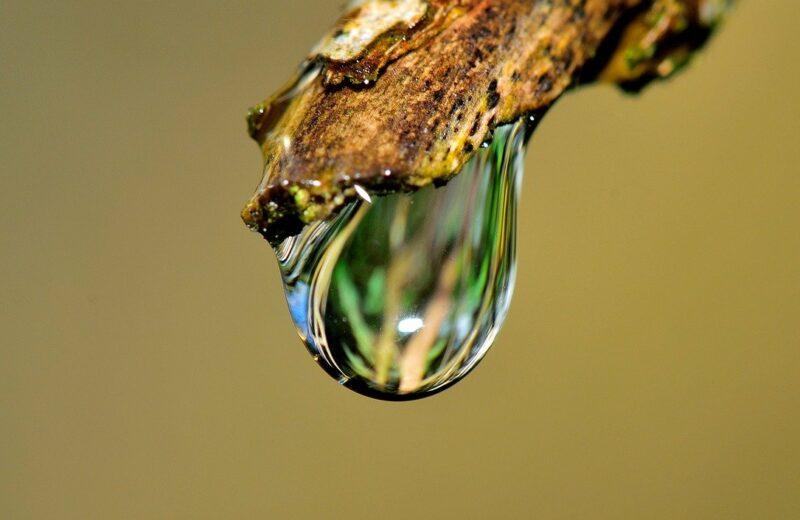 robinet goutte d'eau