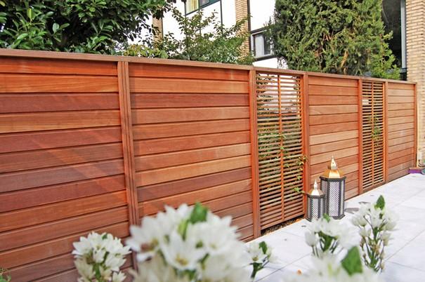 clôture en bois pour son jardin