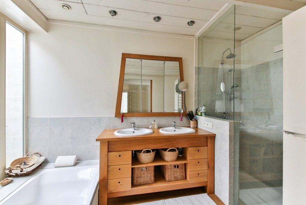 bois salle de bains