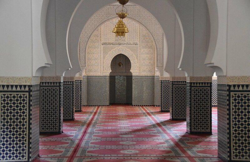 un intérieur au style marocain